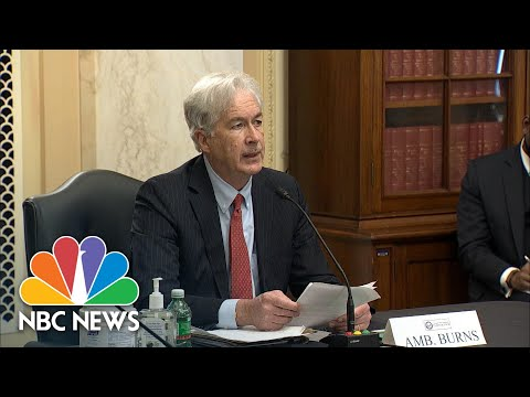 Nominee For CIA Director Says China 'Poses Our Biggest Geopolitical Test' | NBC News NOW