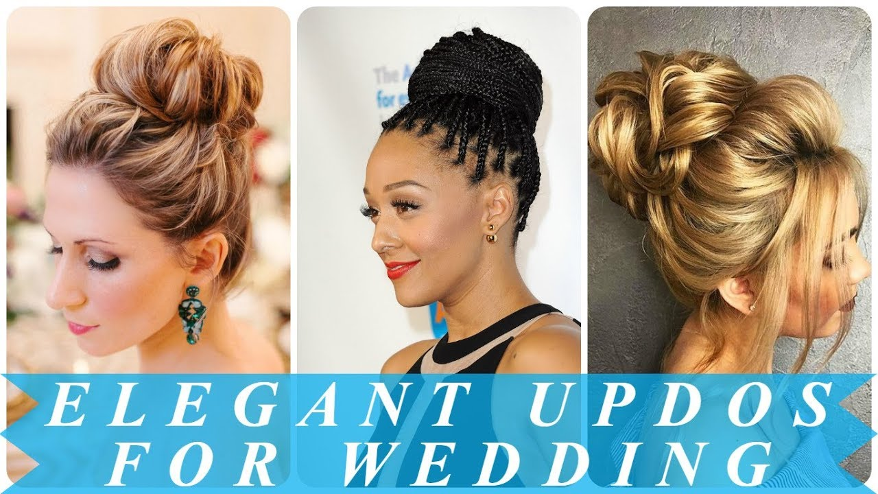 Top 20 Fabulous Updo Wedding Hairstyles: 20 Best Ideas Wedding Updos Hairstyles For Brides 2018