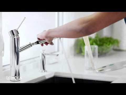 Kitchen Faucet Moen Grey Cabinet Ideas Tilt Pullout Features Spotlight Youtube