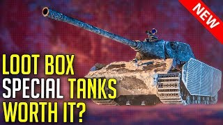 Are Loot Box Tanks Worth It? (E-75 TS, Object 703 II) | World of Tanks Holiday Ops Boxes 2020