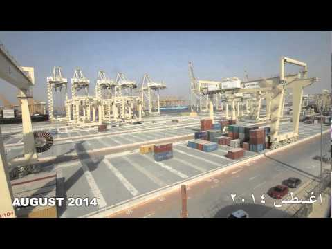 The Yard at Jebel Ali Port's Terminal 3: Two Years in Five Minutes