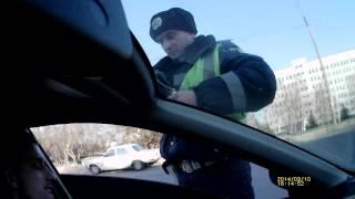 ГАИ Харьков - Развод на несуществующее правонарушение