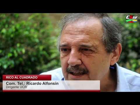 Alfonsín: En economía