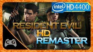 Resident Evil HD REMASTER Gameplay Intel HD Graphics #12