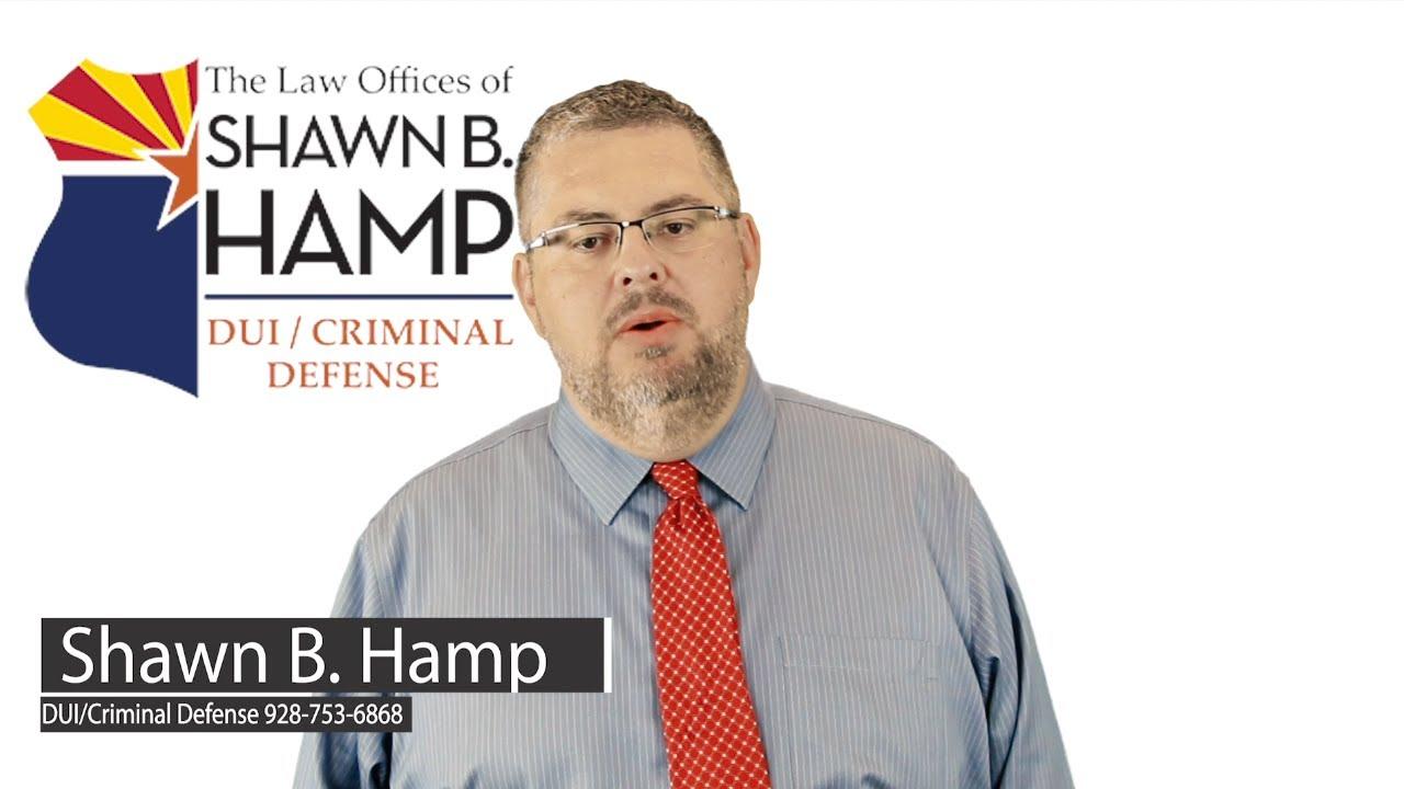 Arizona Criminal and DUI Defense Attorney   Hamp Law
