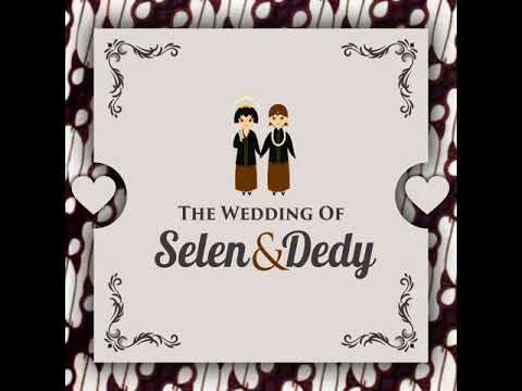 Video Wedding Invitation Adat Jawa After Effect Template