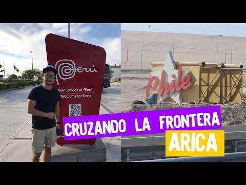 Cruzando la frontera Perú - Chile