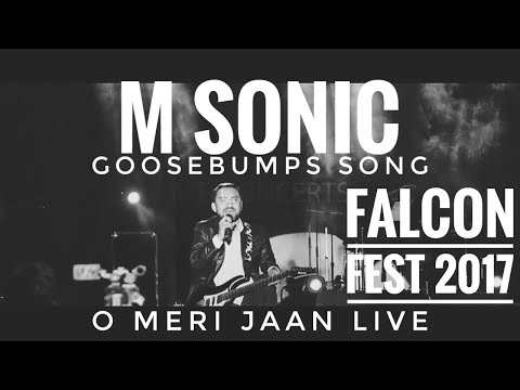 O meri jaan live by M Sonic