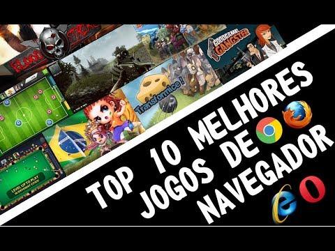 OS 10 MELHORES JOGOS DE NAVEGADOR [2018] + LINK