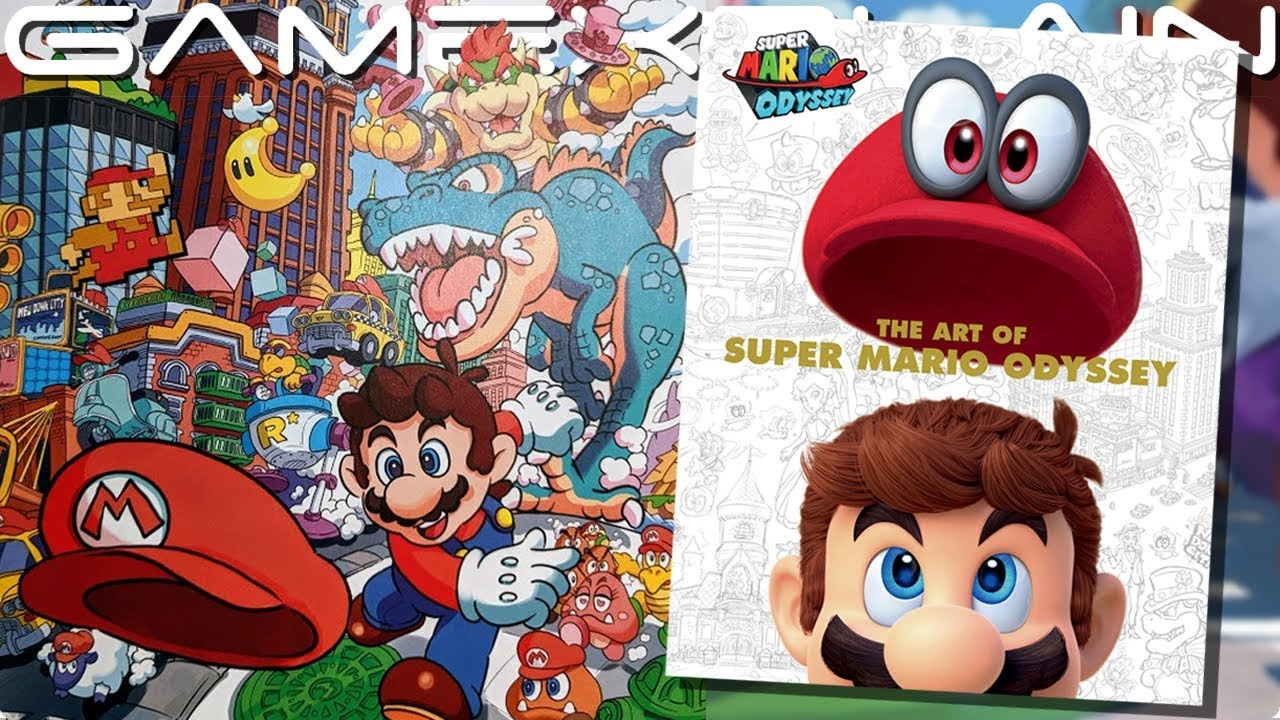 Mario Could Capture Peach The Art Of Super Mario Odyssey Book Overview Tour