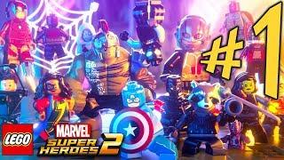 Lego Marvel Super Heroes 2 - Parte 1: Kang, O Conquistador!!! [ PC - Playthrough ]