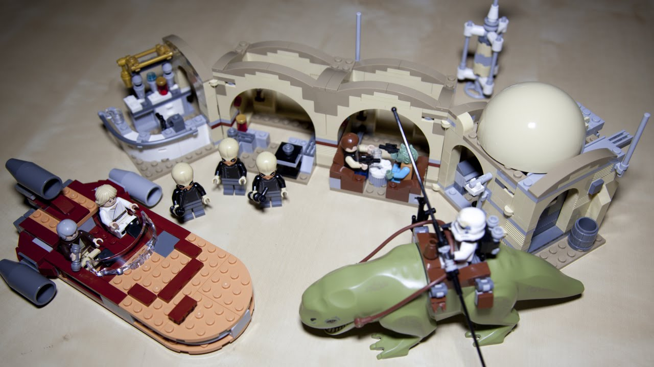 lego star wars 75052 mos eisley cantina speed build review youtube. Black Bedroom Furniture Sets. Home Design Ideas
