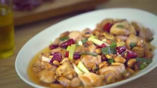 宮保雞丁|Kung Pao Chicken|食譜|C2食光|4K [Eng Sub]