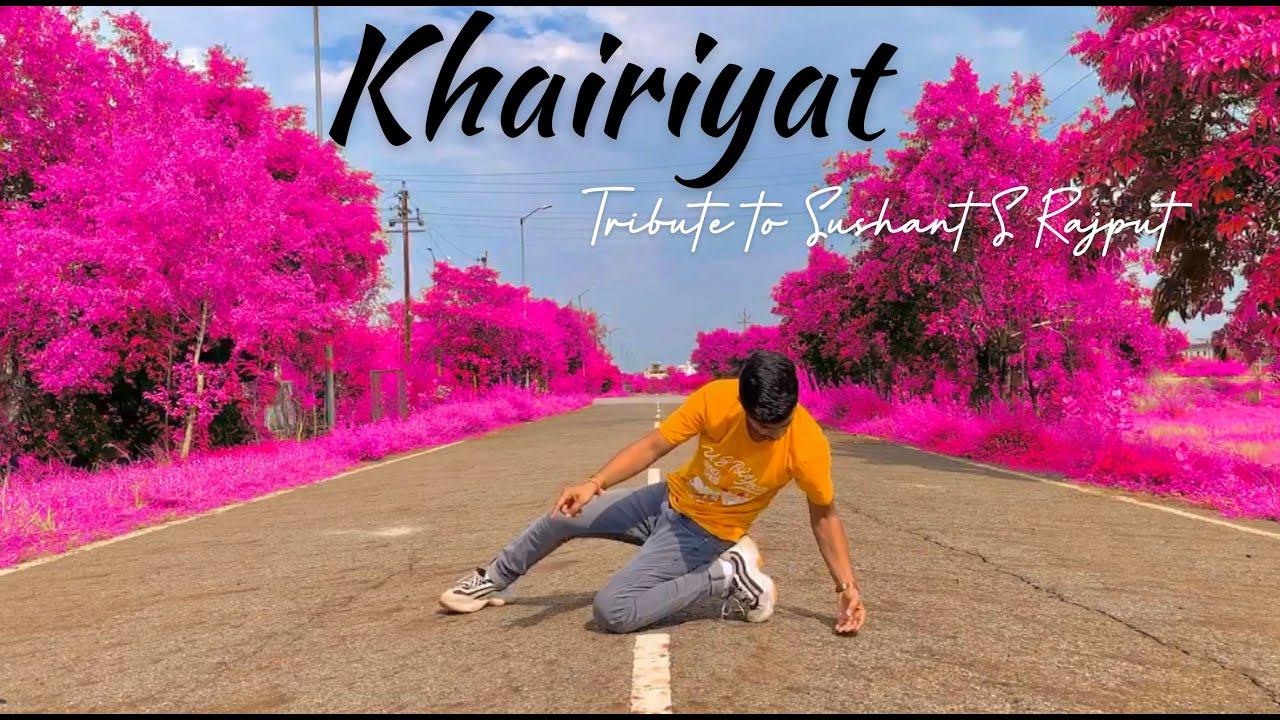 Khairiyat - Tribute to Sushant Singh Rajput | Hiphop Lyrical Dance | Mayank Tomar