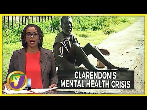 Mental Health Crisis in Clarendon Jamaica | TVJ News - Oct 8 2021