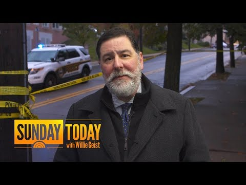 Pittsburgh Mayor Bill Peduto: Synagogue Shooting Is 'Heartbreaking' | Sunday TODAY