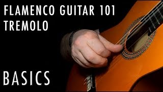 Flamenco Guitar 101 - 21 - Tremolo Basics