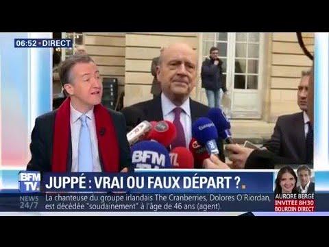 """EDITO - """"Alain Juppé part sans partir, c'est ce qui pouvait arriver de pire à Laurent Wauquiez"""""""