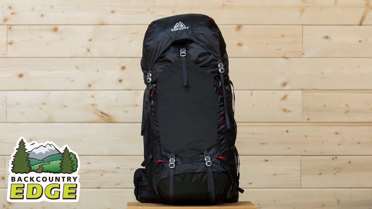 Gregory Stout 65 Internal Frame Backpack - YouTube