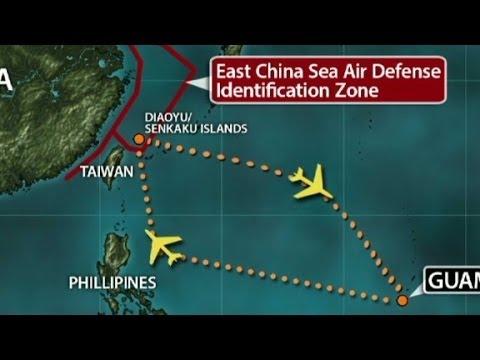 China sends warplanes into disputed zone