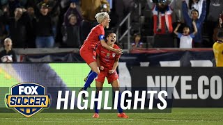 90 in 90: United States vs. Australia | Women's International Friendly Highlights