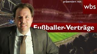 Poldi, Schweini und Co. - Dürfen Fußballer befristet angestellt werden? | RA Christian Solmecke