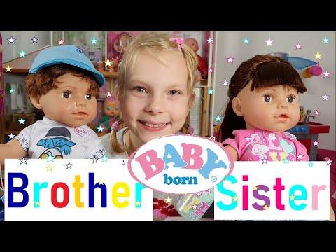BABY born Soft Touch Sister, Brother| Testování hraček ...