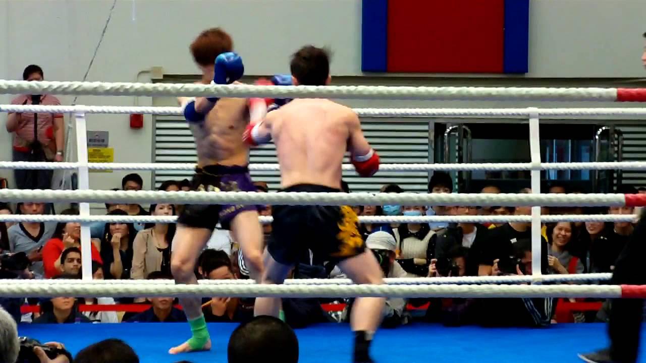 泰拳比賽 2013年中銀香港第五十六屆體育節 第8埸 1 - YouTube