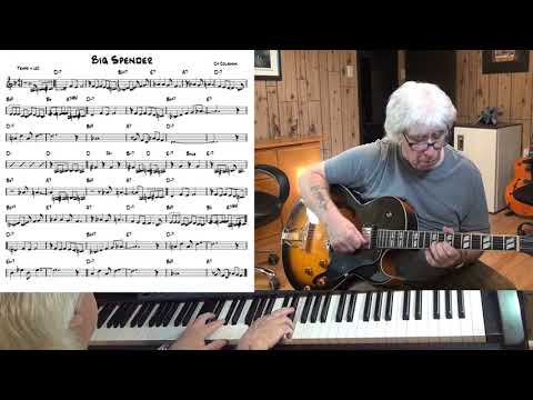 Big Spender - Jazz guitar & piano cover ( Cy Coleman )