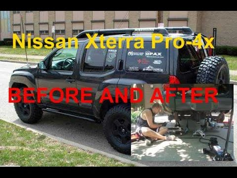 reincarnation nissan xterra pro 4x before and after youtube. Black Bedroom Furniture Sets. Home Design Ideas