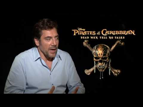 Pirates of the Caribbean: Dead Men Tell No Tales: Javier Bardem Official Movie Interview
