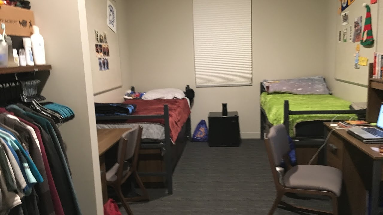san jose state university cv2 dorm tour youtube