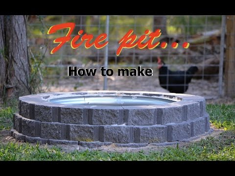 How to Make a Fire Pit Using Retaining Wall Blocks Plus Galvanised Rim<a href='/yt-w/MpmK33cZFgY/how-to-make-a-fire-pit-using-retaining-wall-blocks-plus-galvanised-rim.html' target='_blank' title='Play' onclick='reloadPage();'>   <span class='button' style='color: #fff'> Watch Video</a></span>