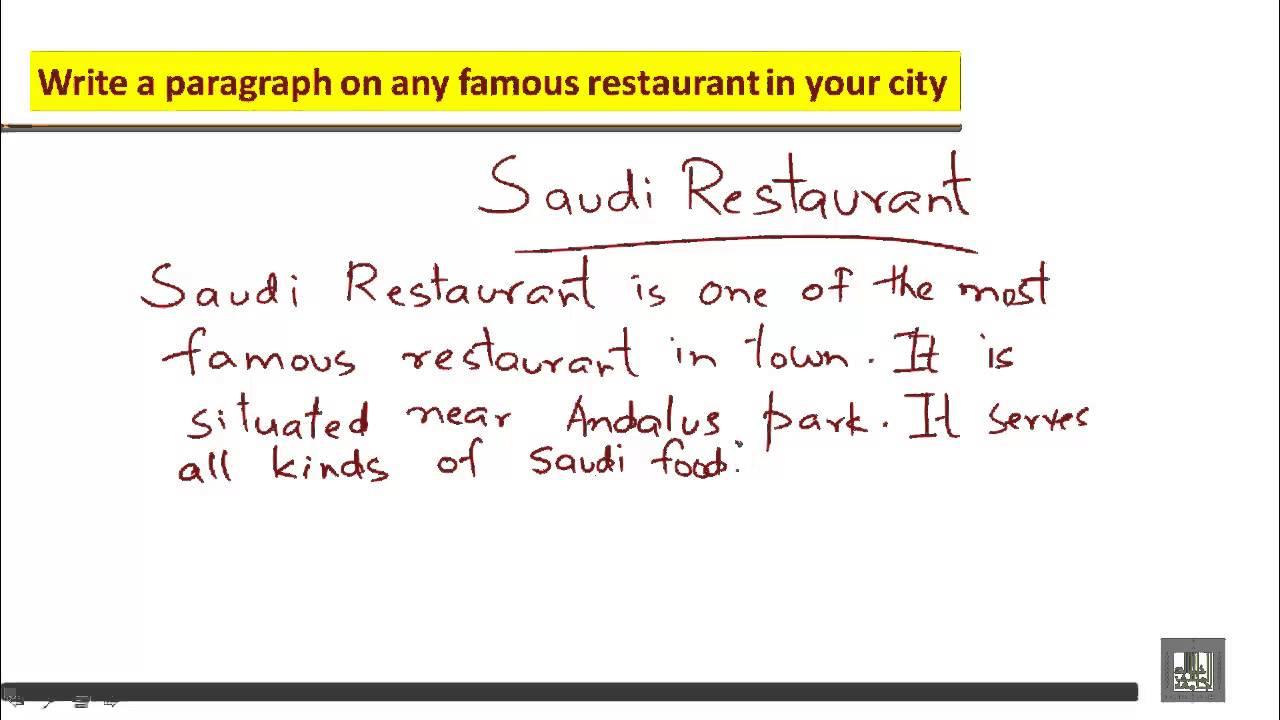 descriptive essay about favorite food