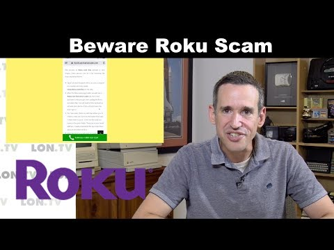 Scammers Target Roku Owners With Fake Call Center!