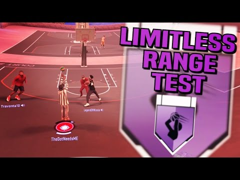 THE ULTIMATE TEST OF LIMITLESS RANGE ON NBA 2K17!!!