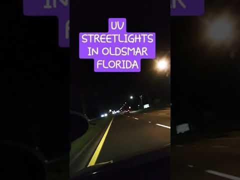 More UV Street lights!!! - OLDSMAR FLORIDA!