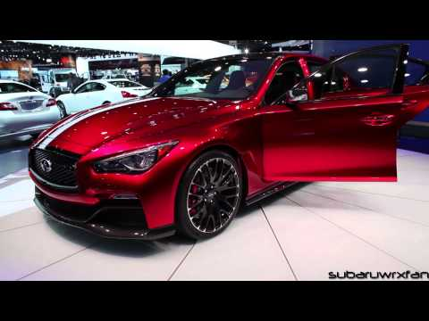 Infiniti Q50 Eau Rouge Design and Discussion: Detroit 2014