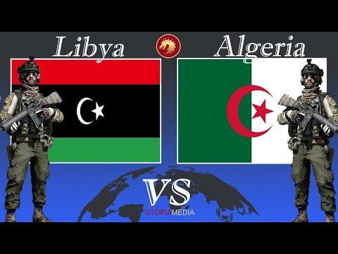 ALGERIA vs LIBYA NATIONAL ARMY (PUTSCHİST HAFTAR) military power comparison 2020