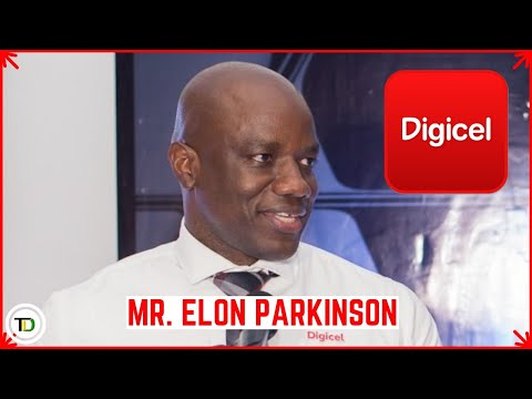 Elon Parkinson: Digicel Public Relations and Communications Manager