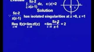 Mod-1 Lec-8 Residue Theorem