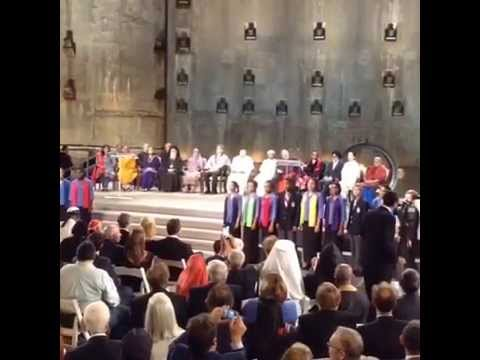"Interreligious Prayer Service with Pope Francis: Choir Sings ""Let There Be Peace on Earth"""