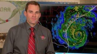 National Hurricane Center warns of Hurricane Harvey threat