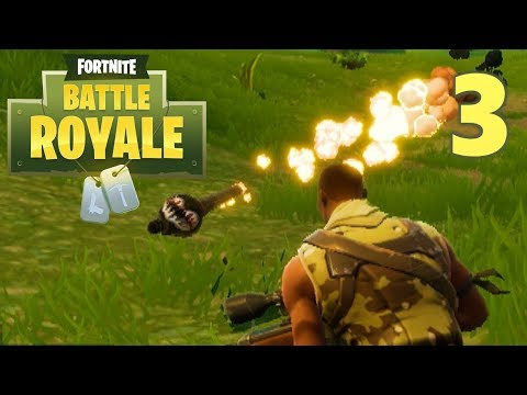 [3] Squad Mode VICTORY!!! (Let's Play FortNite Battle Royale