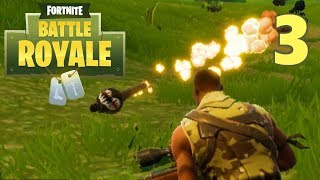 [3] Squad Mode VICTORY!!! (Let's Play FortNite Battle Royale)