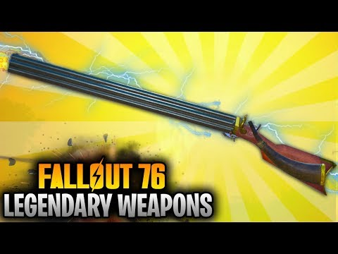 Fallout 76 Top 10 Legendary Unique Weapon Locations! (Fallout 76 Best Weapons #1)