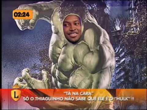 """Thiaguinho participou do """"Tá na Cara"""" no Legendários #arquivolegendários"""