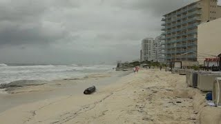 קובה מקסיקו סופת ההוריקן מייקל מכה בדרך ל פלורידה