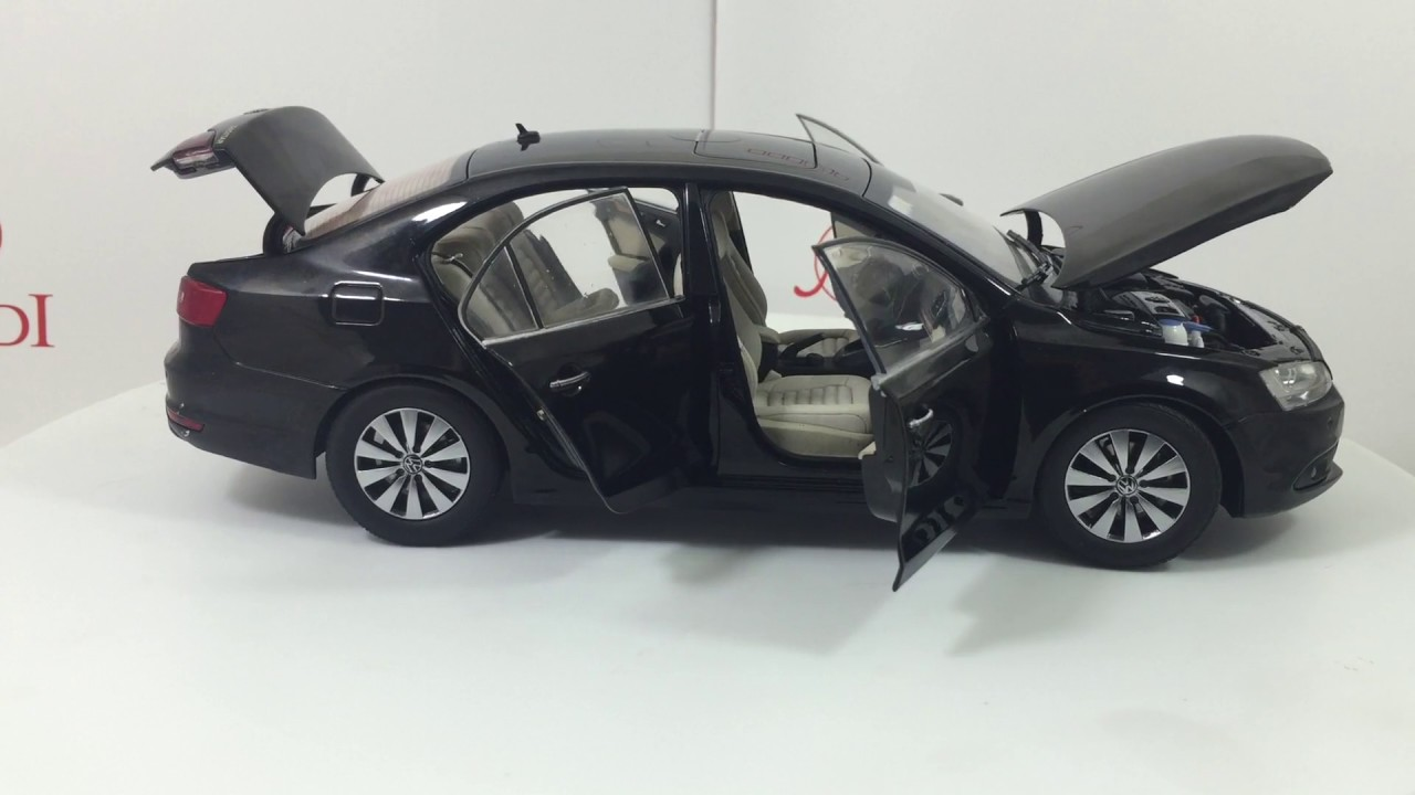 Paudi Model Vw Volkswagen Sagitar 2012 Black Diecast Model Car Youtube