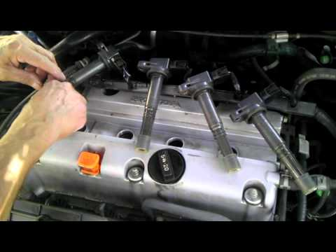 hqdefault 2005 honda accord lx 4cyl spark plug replacement youtube  at mifinder.co